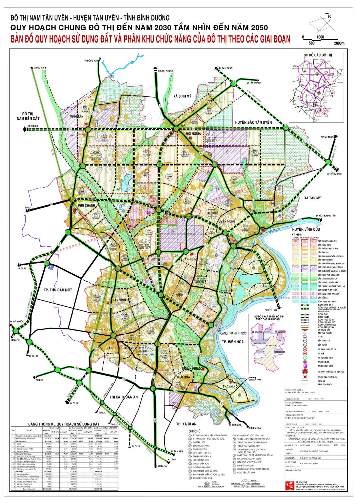 Quy hoạch phát triển đô thị thị xã Tân Uyên Bình Dương