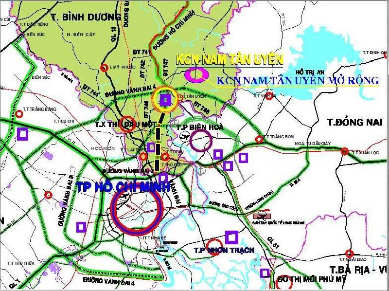 Tiềm năng hút đầu tư bất động sản tại Thị xã Tân Uyên Bình Dương